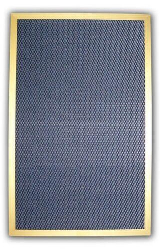 Electrostatic Furnace Filter GOLD solid metal frame HVAC AC