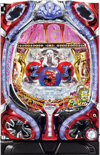 LADY GAGA Pachinko Japanese Slot Pinball CR GAGA DIVA MONSTER SINGER SONG NOW!