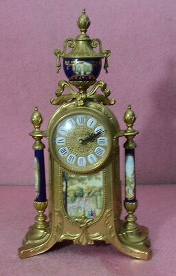 Vintage Ornate Imperial Mantle Clock.