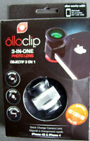 White Olloclip Lens iPhone 4, 4S, iPod Touch (New)