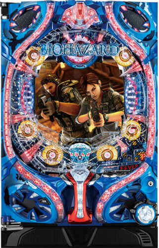 CR Biohazard 2019 Resident Evil Pachinko Machine Japanese Slot Pinball Awesome