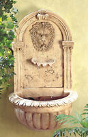 Lion Head Outdoor Electric Wall Fountain Brand New