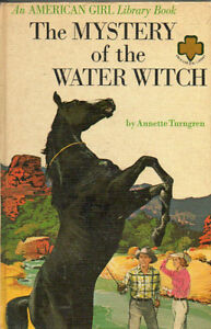 THE MYSTERY OF THE WATER WITCH (Horse Book) Annette Turngren Hcv