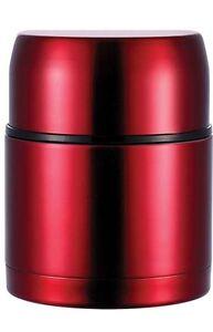 LUJO-ACERO-inox-Termo-recipiente-Insulado-500ml-Essen-Funda-termica-Rojo