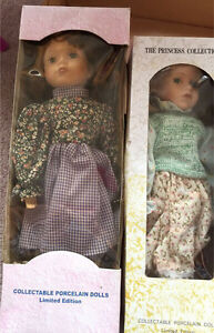 Collectable porcelain dolls Limited Edition