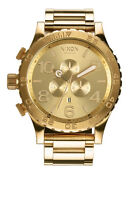 BRAND NEW NIXON 51-30 CHRONO ALL GOLD WITH TAGS