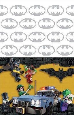 LEGO BATMAN MOVIE PLASTIC TABLE COVER ~ Birthday Party Supplies Decoration Cloth