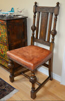 Antique  Solid OAK CHAIRS