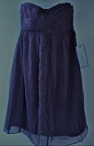 JCrew Taryn Silk chiffon dress NWT