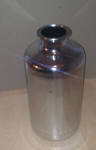 PS-12F Stainless Steel 316 2L Bottle with Triclamp Fitting Cambridge Kitchener Area image 2