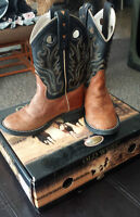 Old West size 9 Cowboy Boots