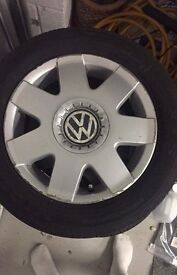 Volkswagan polo 5x100 few scuff and scratches as expected £90-100 set of 4
