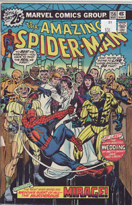 AMAZING SPIDERMAN COMIC BOOK 156