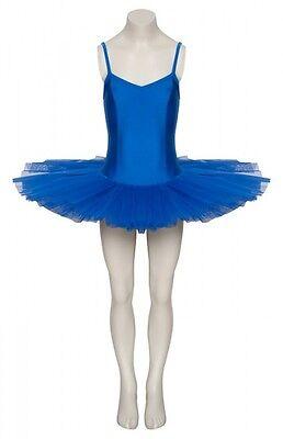 Ladies Girls Royal Blue Ballet Fancy Dress Costume Tutu Outfit All Sizes By Katz