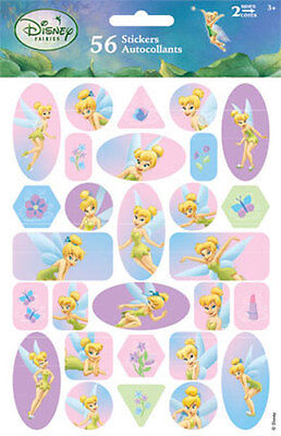 2 Sheets Disney Tinkerbell Fairies Fairy  Stickers Teacher Supply Party - Tinkerbell Party Favors