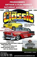 CAR SHOW BY THE LAKE  VINELAND ONT