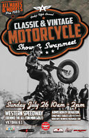 Andy's 5th Annual Classic & Vintage Motorcycle Show & Swap