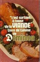 Livre de cuisine de Dominion  '' Recette '' 1969