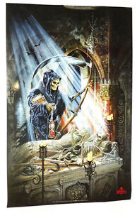 ALCHEMY GRIM REAPER POSTER FROM 1999 GOTHIC