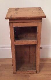 Antique pine cupboard/bathroom cabinet