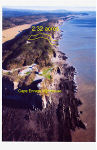 LIGHTHOUSE ROAD, CAPE ENRAGE (WATERFRONT)