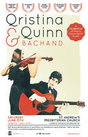Qristina & Quinn Bachand | Award Winning Celtic Roots & Folk Mus