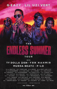 G-EAZY Toronto Bud Stage Aug 22 Tickets