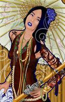 Asian Girl - Print from Original Artist