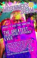 A Midsummer's Dream colour festival is looking for volunteers!