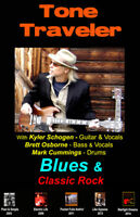 3 Piece Blues & Classics Band for your party needs.
