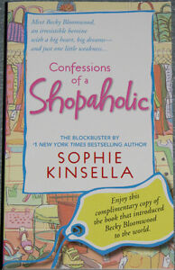 Confessions of a Shopaholic by Sophie Kinsella London Ontario image 1