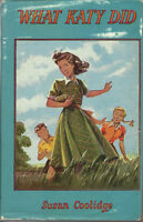 WHAT KATY DID RARE ANTIQUE OLD GIRLS CHILDREN'S BOOK SUSAN COOLI
