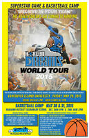 Harlem Dreams Basketball Camp plus 2 tickets to the Show!