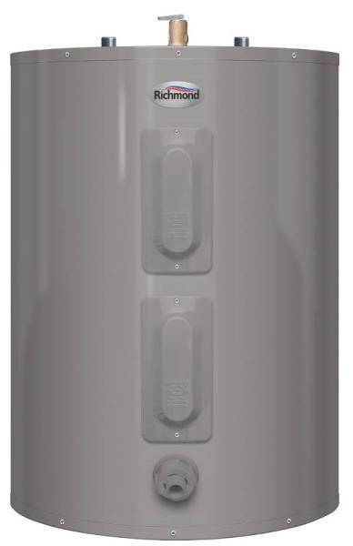 New Richmond Rheem 6es40-d 40 Gallon Short Electric Hot Wate