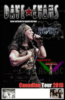 Dave Evans with THUNDERSTRUCK @ THE HARB