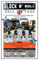 Roller Derby Double Header - Block and Roll Hall of Fame