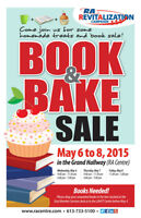 RA Centre Book and Bake Sale