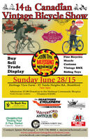 IMPORTANT NOTICE... Vintage Bicycle Show DATE CHANGE to JULY 5th