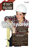 LOOKING TO START A CAREER IN THE TRADES? ONLY ONE SPACE LEFT!