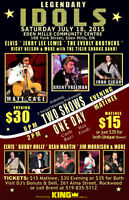 Legendary Idols Music Show with Elvis, Jerry Lee Lewis and More!