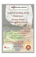 Inspired Cooking Series Fundraiser Featuring Mark Toffanello