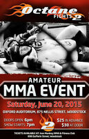 LIVE MMA CAGE FIGHTING IS BACK!!