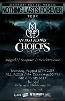 Jagged, Seagrave , My Dear Dilemma, Choices, Scarlett Grace.