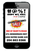 WINNIPEG #1 CELL PHONE REPAIR IPHONE 6 6+ LCD instock