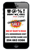 WINNIPEG #1 CELL PHONE REPAIR IPHONE 5 LCD 74.88 installed