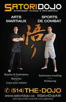 Promoteur cours d'arts martiaux