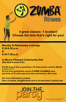 Zumba Classes in NW Calgary- Mount Pleasant