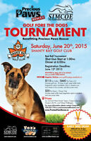 Golf Fore The Dogs! Early Bird Registration by May 15