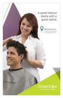 Great Clips - Burlington Power Centre - Hiring P/T Stylist