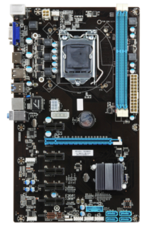 Brand New B81 6 PCI Express Card Intel 1150 Motherboard Newstead Brisbane North East Preview